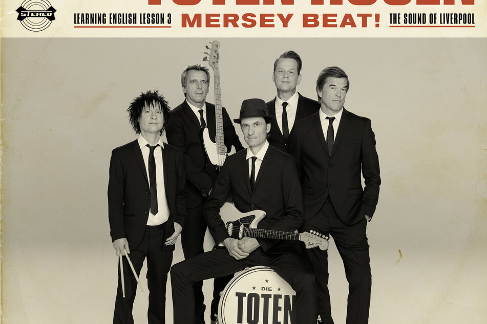 Cover des Albums «Learning English Lesson 3: Mersey Beat! The Sound Of Liverpool» von den Toten Hosen