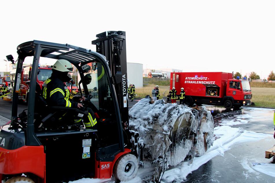 Die Feuerwehr konnte den Brand nach zwei Stunden löschen.