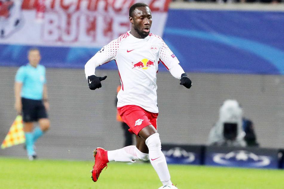 Das letzte Saison-Heimspiel gegen Wolfsburg verpasste Naby Keita (23) wegen einer Gelb-Rotsperre. In Berlin läuft er am Samstag letztmals im RB-Trikot auf.