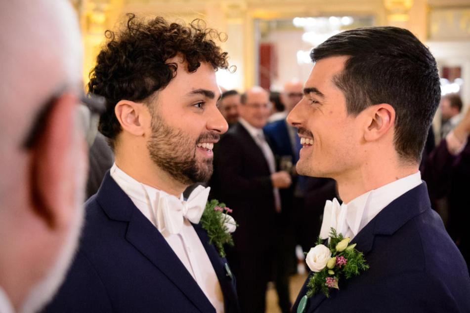 Hier haben sich 44 homosexuelle Paare das Ja-Wort gegeben