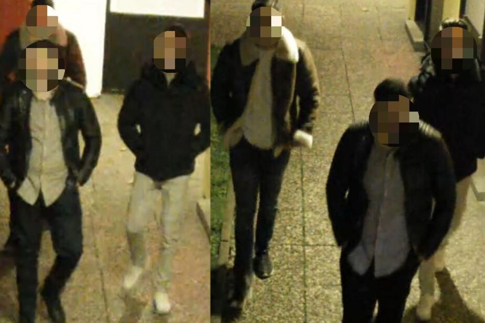 Die gesuchten Männer erschienen bei der Polizei.
