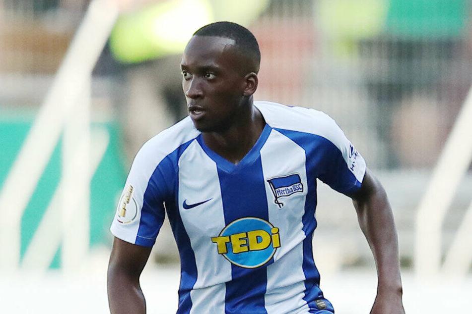 Dodi Lukebakio feierte im Pokal sein Pflichtspiel-Debüt für Hertha BSC.