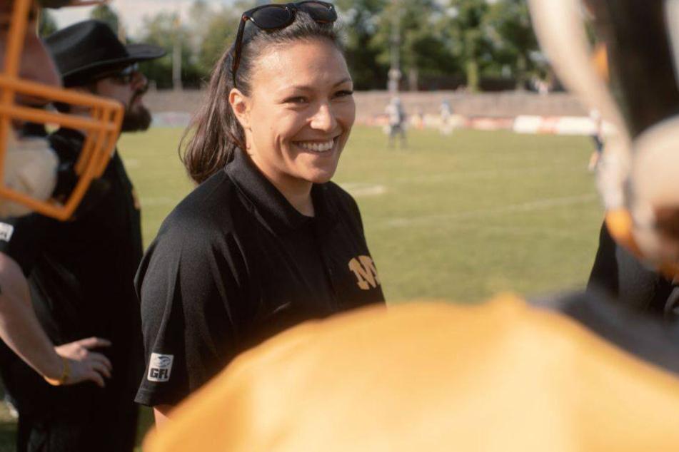 Nadine Nurasyid ist seit der Saison 2019 Defense-Coach der Munich Cowboys.