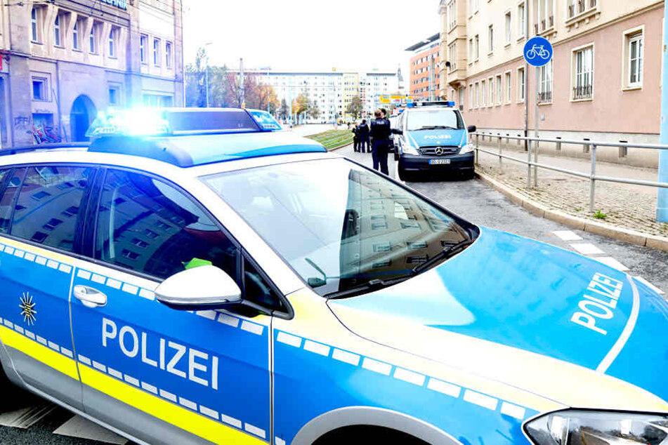 "Bombendrohung im ""Moritzhof"": Polizei-Einsatz in Chemnitz"