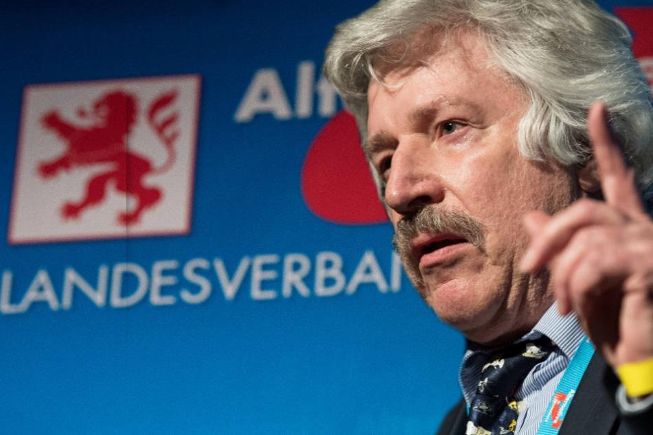 Rainer Rahn wurde zum AfD-Spitzenkandidaten für die Landtagswahl in Hessen gewählt.