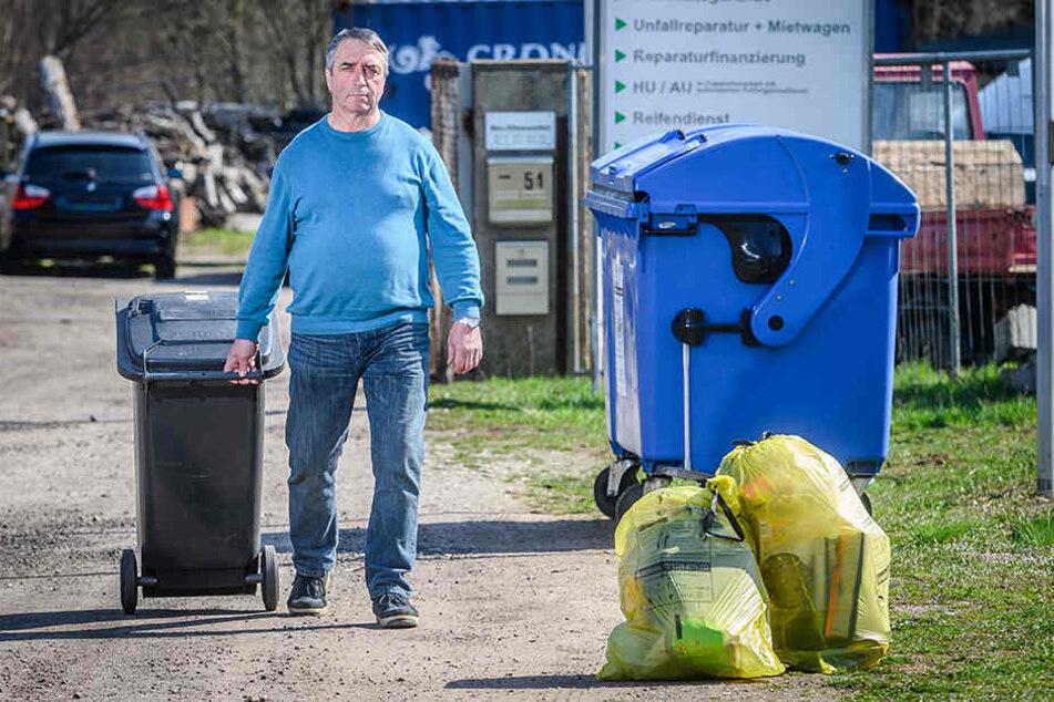 Müll-Zoff: ASR verweigert Entsorgung frei Haus!