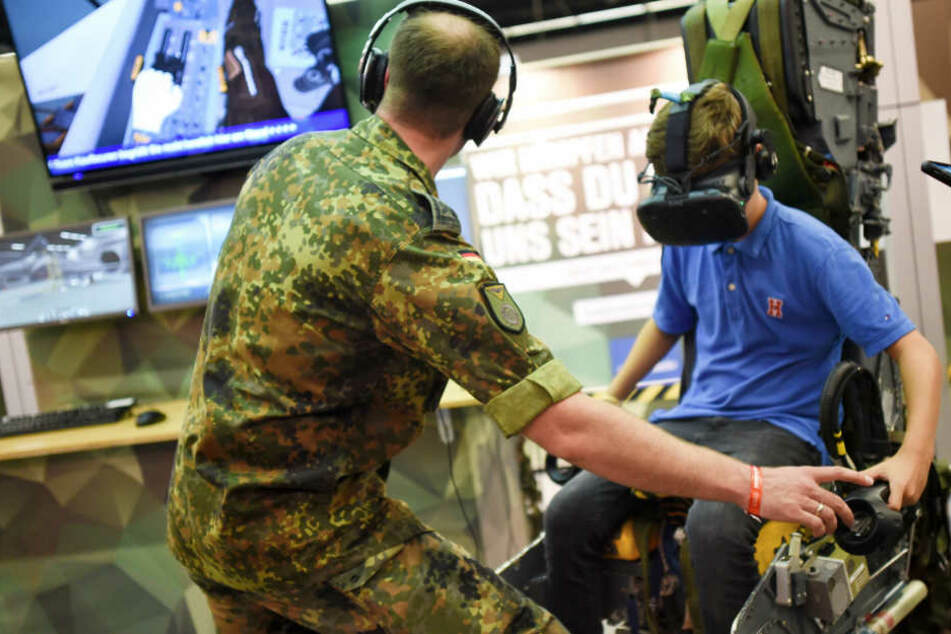 Bundeswehr muss sich für Gamescom-Einsatz verteidigen