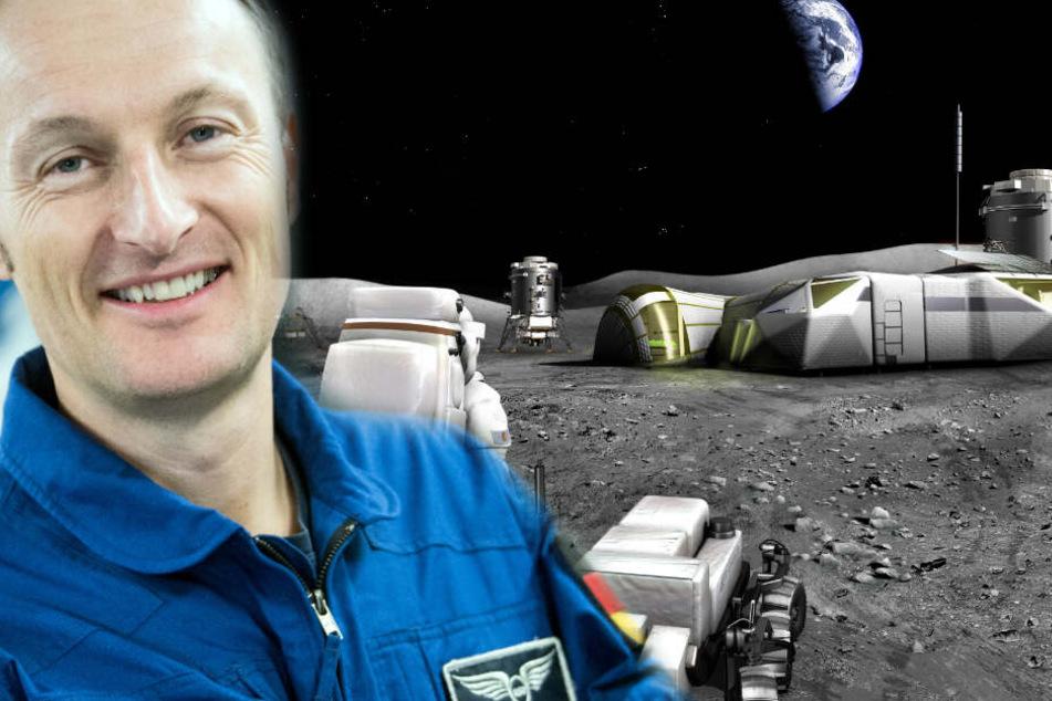 Astronaut erklärt Gründe für Raumstation auf dem Mond