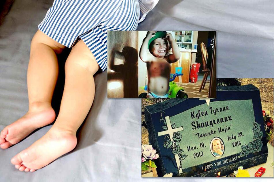Der Zweijährige Kylen hat eingemacht, da rastete die Mutter aus.