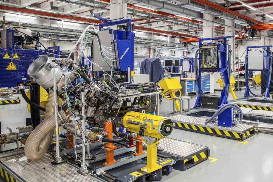 Im Rüsselsheimer Entwicklungszentrum arbeiten rund 7000 Menschen.