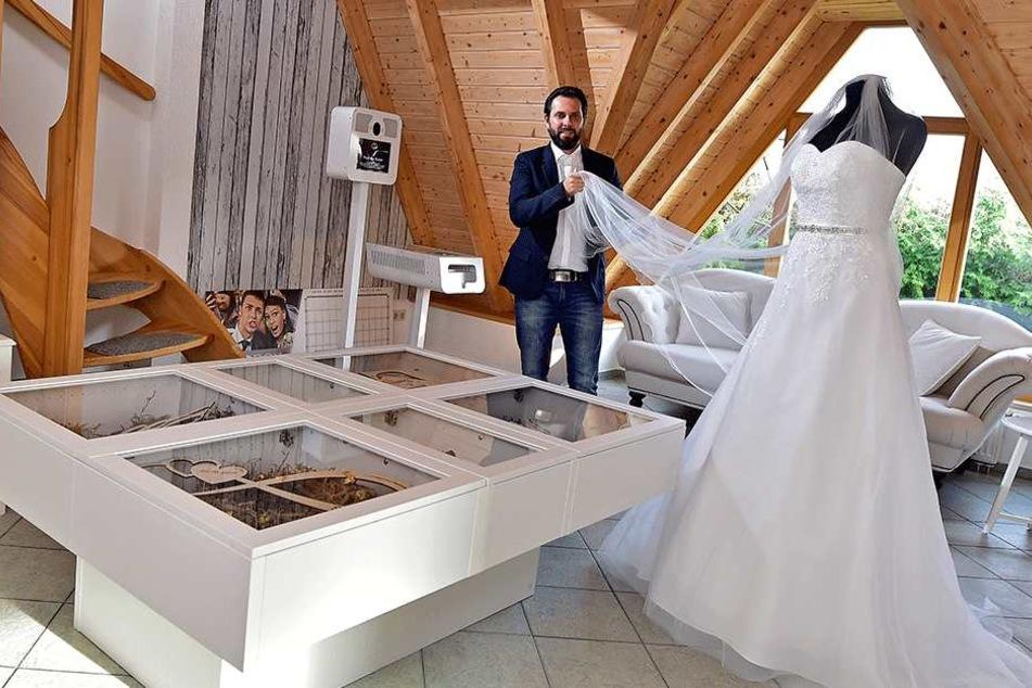 Hier soll Deutschlands erstes Hochzeitszentrum entstehen: Brautmode, Konditor und Fotografen finden sich dann auf einen Fleck.