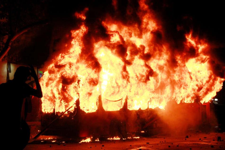 Chile wird von heftigen Unruhen, die teils aus dem Ruder laufen, erschüttert.