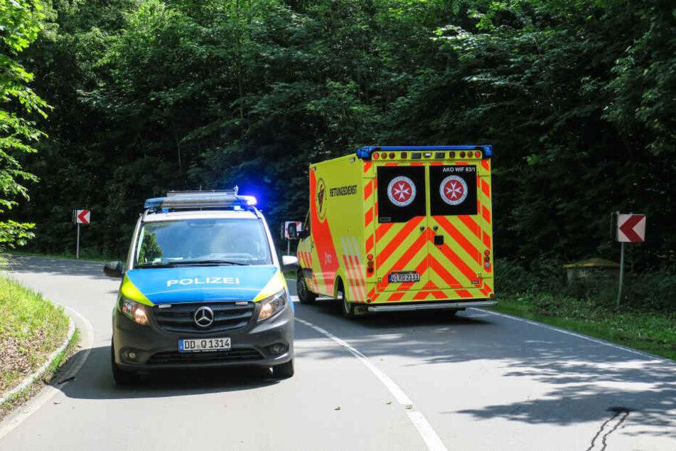 Die verletzte Fahrerin kam ins Krankenhaus.