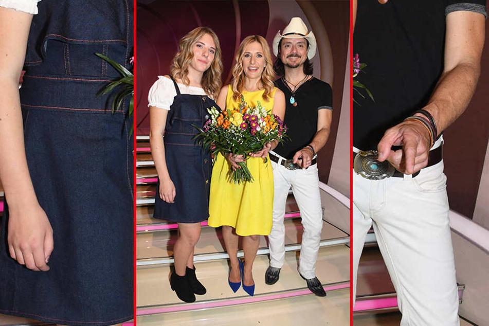 Musikalisch auf neuem Wege? Stefanie Hertel (40) feilt an einem gemeinsamen Projekt mit Ehemann Lanny (44) und Tochter Johanna (17).