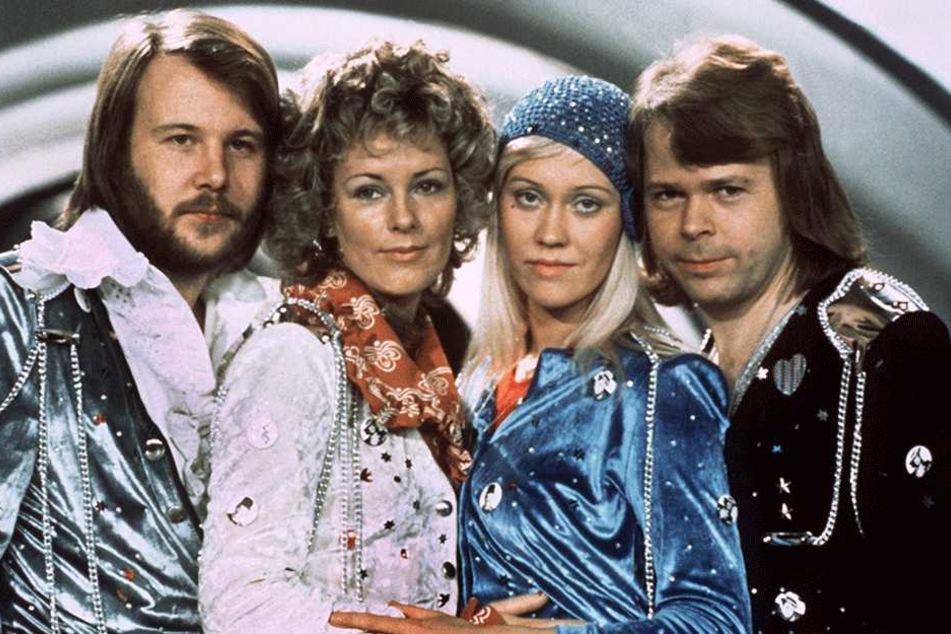 Das Pop-Quartett ABBA begeisterte in den 70er Jahren Millionen von Fans.
