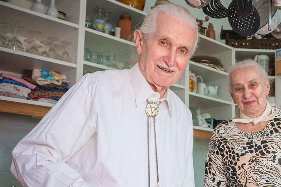 """Dresdner (90) und seine Frau (92) wollen die """"Weiße Flotte"""" retten!"""