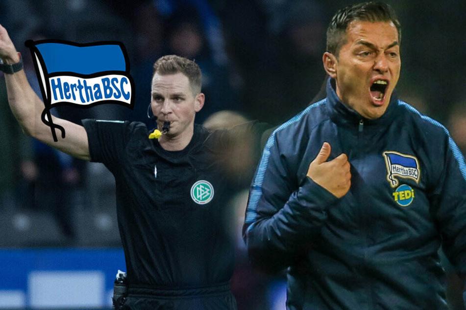 """Hertha hadert mit Videobeweis: """"Da verstehe ich die Welt nicht mehr!"""""""