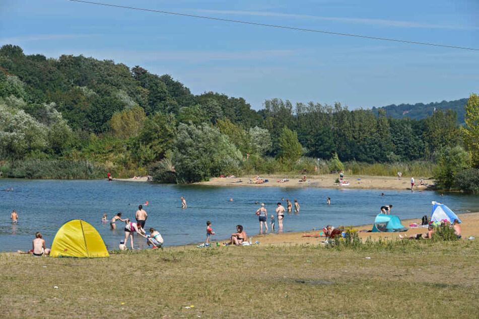 Im Stadtrat beschlossen: Baden in Leuben soll legal werden.
