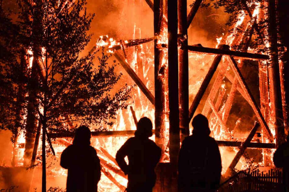 Brandstiftung in Serie: Goetheturm und andere Holzbauten werden neu errichtet