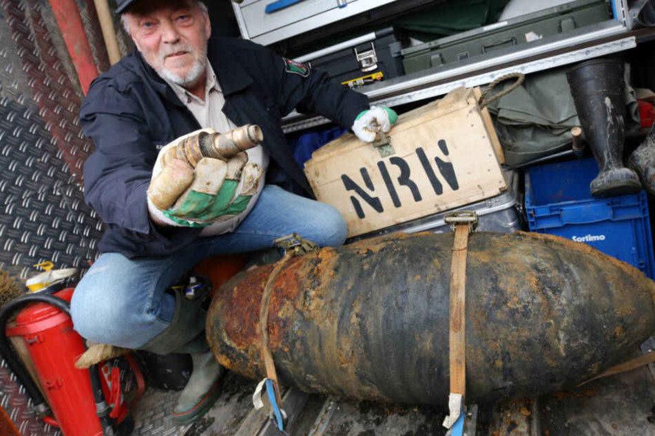 Explosives Erbe: Deutlich mehr Bombenfunde in NRW als im Vorjahr