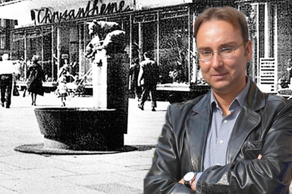 Unterschriften-Aktion: Bekommt Chemnitz seinen Bärenbrunnen zurück?