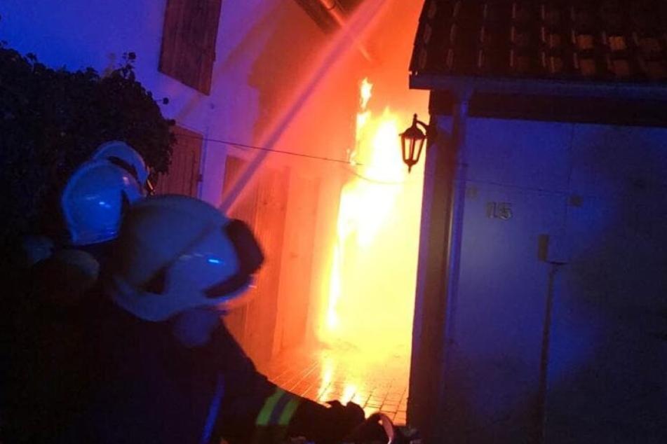 Auch an den Feiertagen hatten die Kameraden der Feuerwehr ordentlich zu tun.