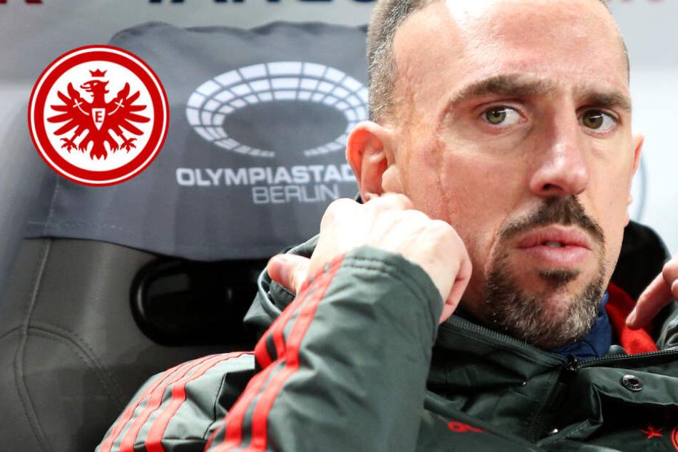 Hammer-Gerücht: Wechselt Franck Ribéry zu Eintracht Frankfurt?