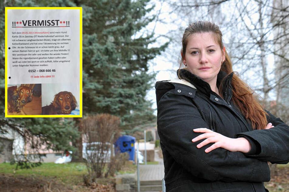 500 Euro Belohnung: Stadträtin sucht nach ihrem Dackel Karli