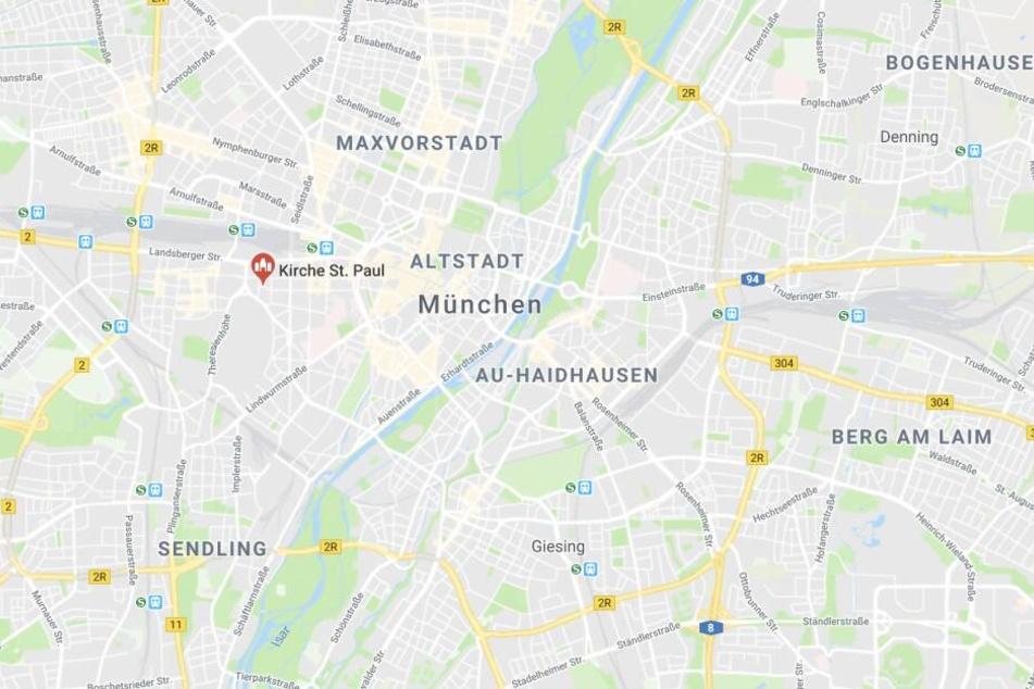 In der Ludwigsvorstadt in München ist es bei einem Gottesdienst zu einem Zwischenfall gekommen.