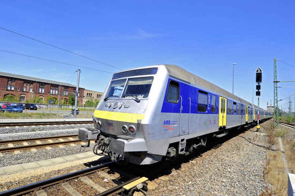 Bisher fahren die Züge der Mitteldeutschen Regiobahn zwischen Chemnitz und Leipzig.