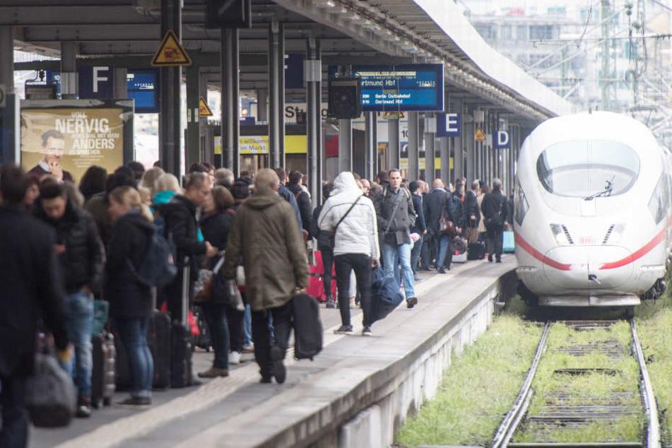 Zu Beginn der kommenden Woche sollen alle Züge auf ihren gewohnten Strecken verkehren.