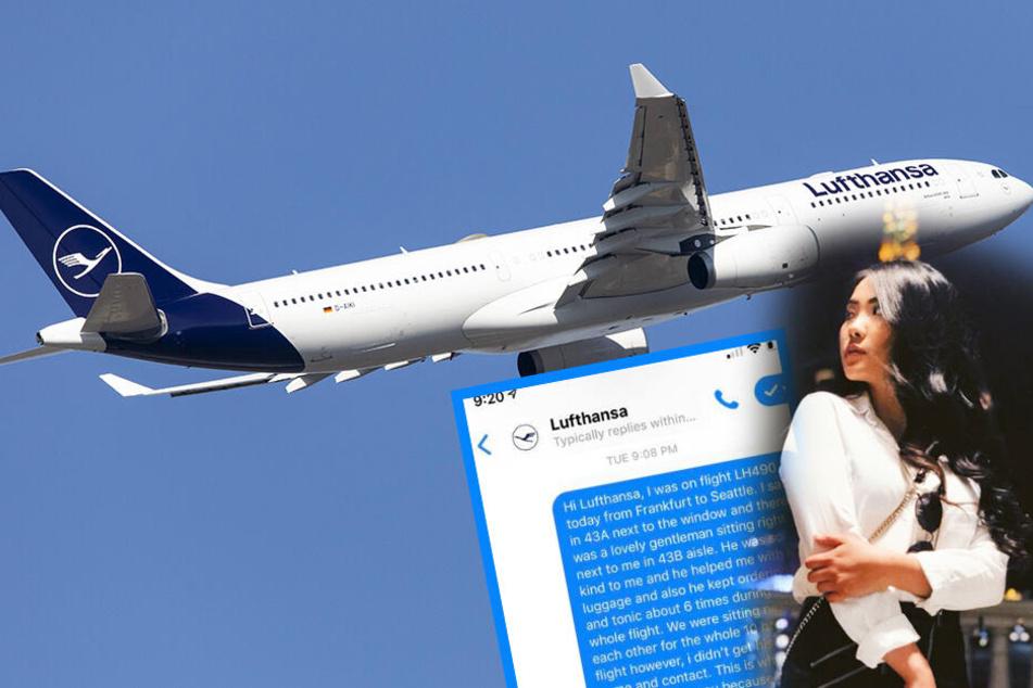 Verliebt auf dem Lufthansa-Flug von Frankfurt! Diese Frau sucht ihr Herzblatt