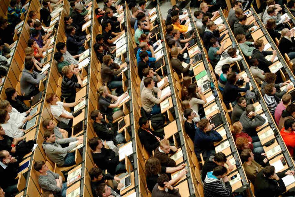 Ein voller Hörsaal in München: Viele Studenten sind ausländischer Herkunft.