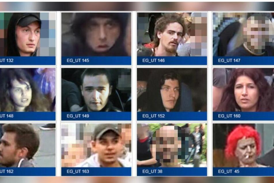 Die Polizei bittet um Hinweise zu diesen Personen.