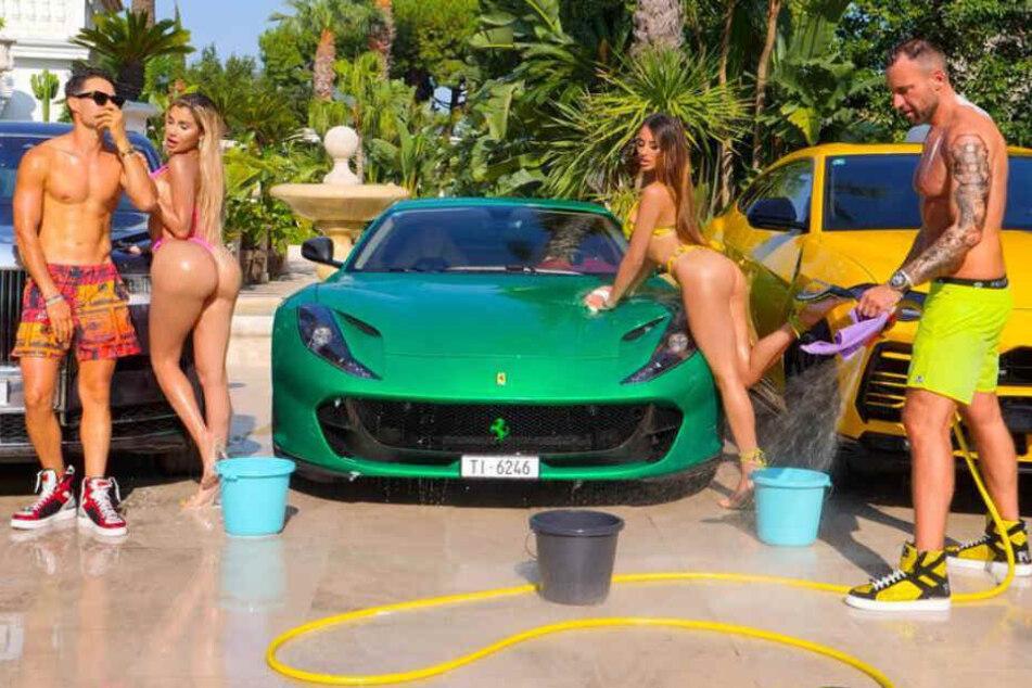 """Bilder wie diese findet Ferrari einfach nur """"geschmacklos""""."""