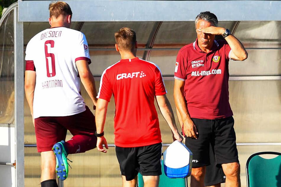 Die Knieprobleme hat Marco Hartmann (l.) rechtzeitig überwunden.