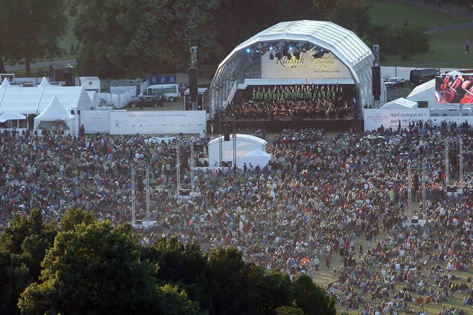 25.000 Besucher lauschten im vergangenen Jahr den Klängen des Gewandhausorchesters im Rosental.