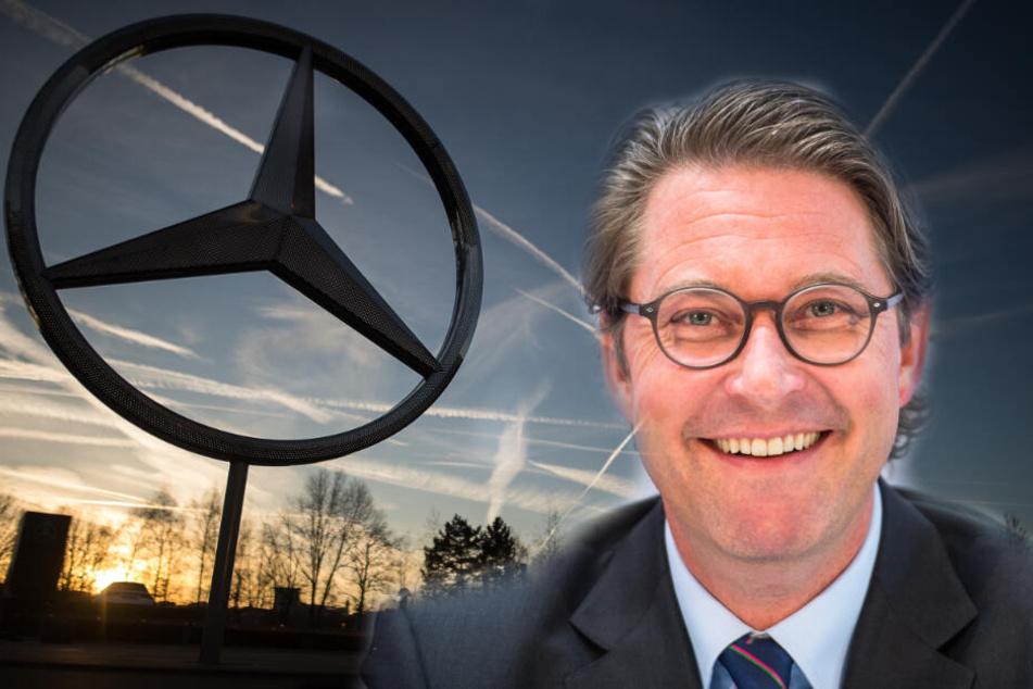 "Bundesverkehrs-Minister bringt Daimlers ""Salamitaktik"" im Dieselskandal auf die Palme"
