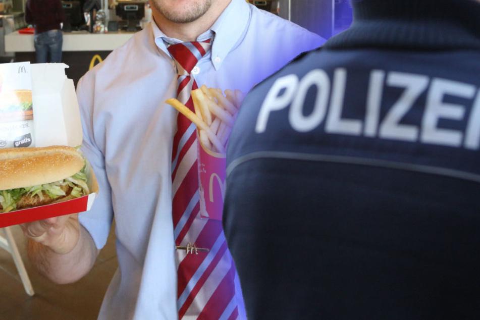 Schneller Ersatz für bisherigen Essenslieferanten - da kam nur Mc Donald's infrage - zumindest in Bergisch Gladbach.