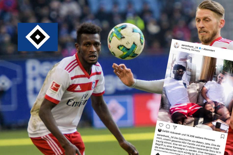 """HSV-Kapitän Hunt nennt Berichte über Jatta """"Kampagne"""""""