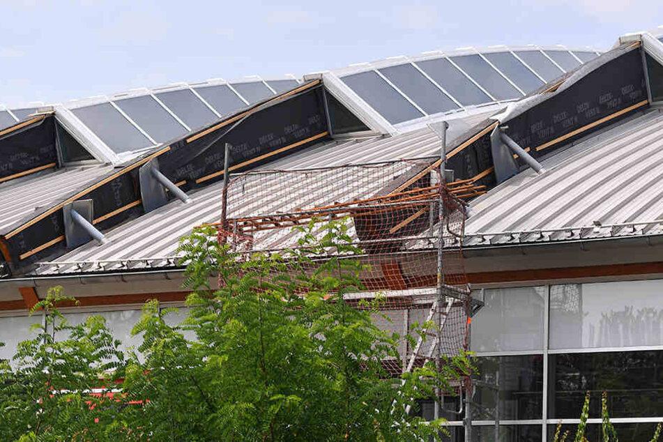 Erst in diesem Sommer wurde das undichte Dach repariert.
