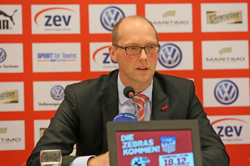 Einschnitte wird es auch in der Verwaltung geben, meinte FSV-Vorstandssprecher Tobias Leege.