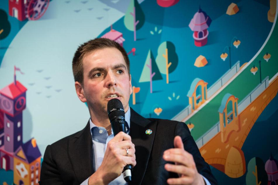 Philipp Lahm, EM-Botschafter von München und ehemaliger Nationalspieler.