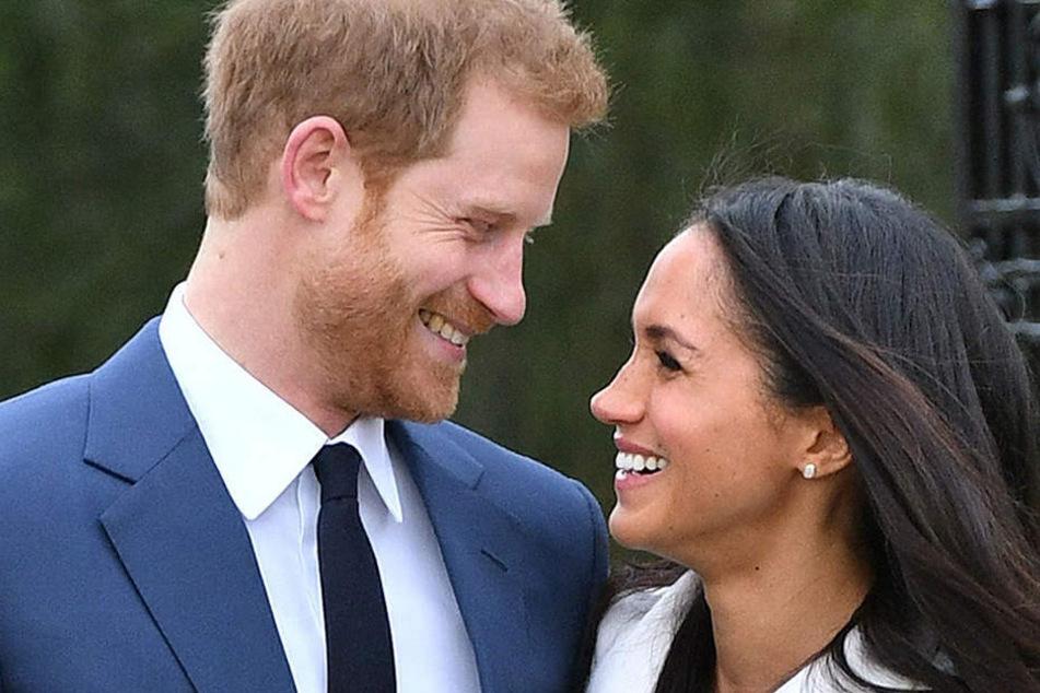 Der britische Prinz Harry und die US-amerikanische Schauspielerin Meghan Markle heiraten am 19. Mai.