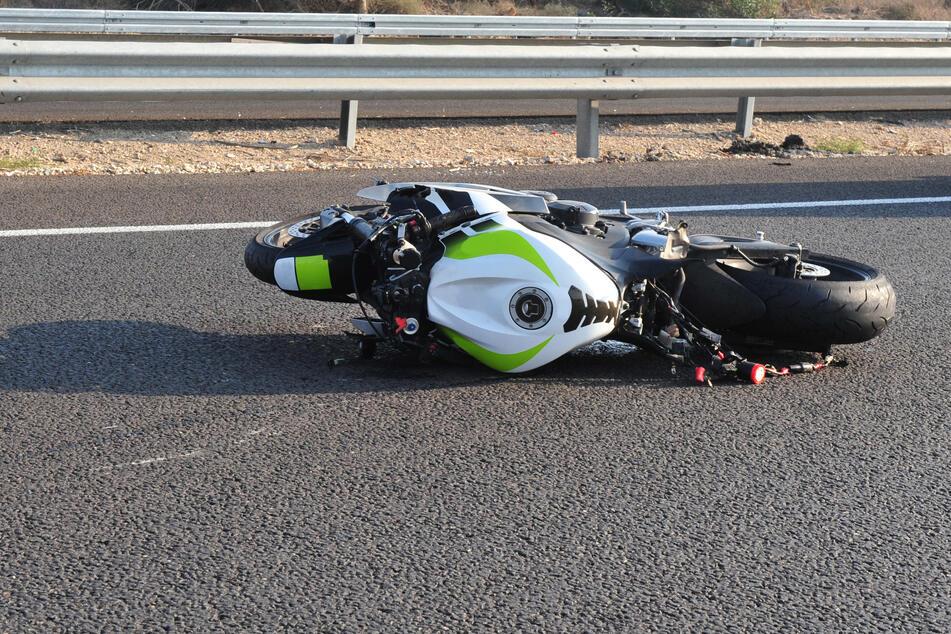 Motorradunfälle häufen sich zu Beginn der Saison, wenn viele Fahrer noch ungeübt sind. (Symbolbild)