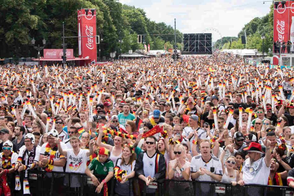 Die Deutschland-Fans werden für diese WM die Fanmeile wahrscheinlich nicht mehr besuchen.