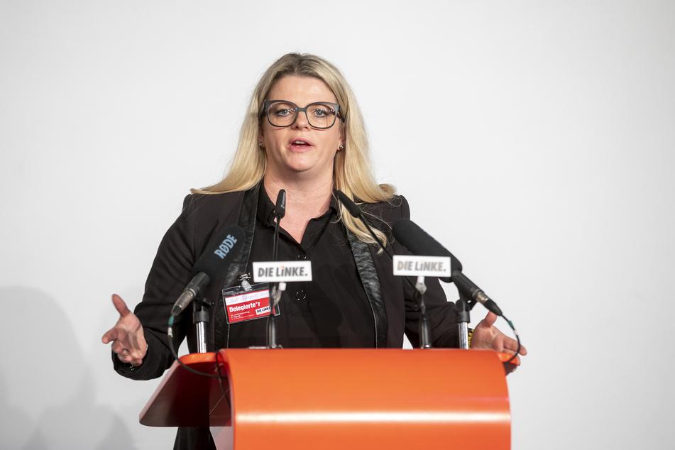 """Susanne Schaper (42) von """"Die Linke""""."""