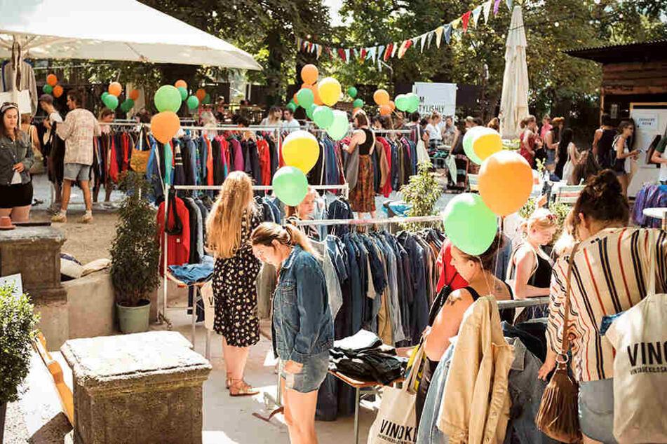 Am 25. Mai kann man in der Spinnerei Second-Hand-Mode shoppen. Bezahlt wird nach Gewicht.