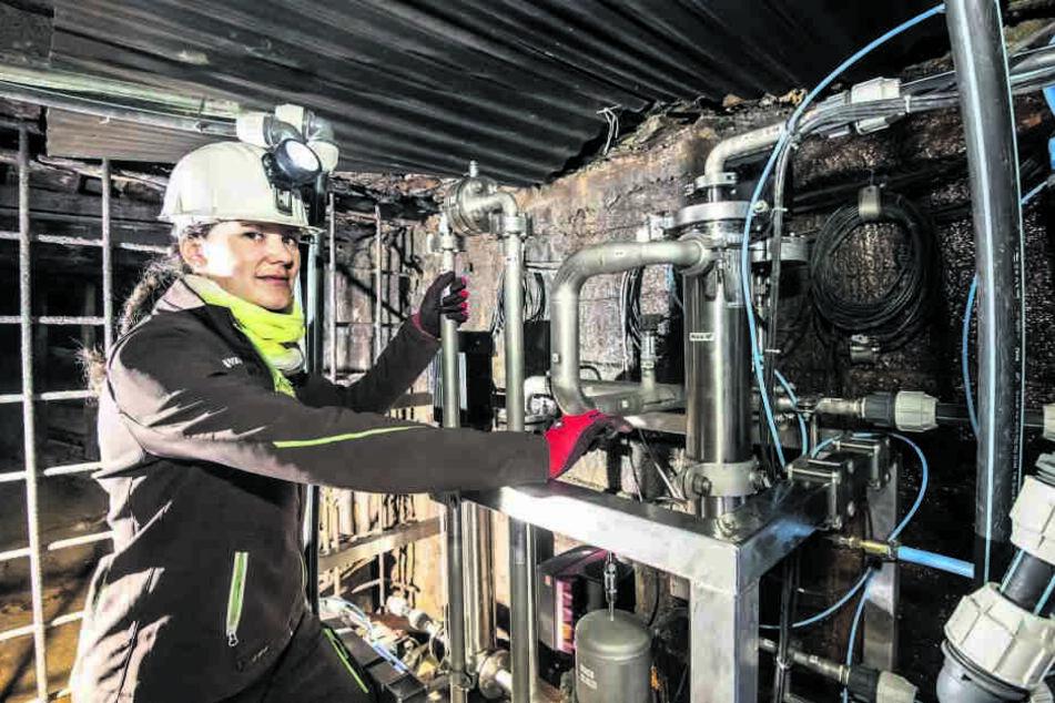 TU Freiberg testet europaweit einmalige Anlage in 142 Meter Tiefe