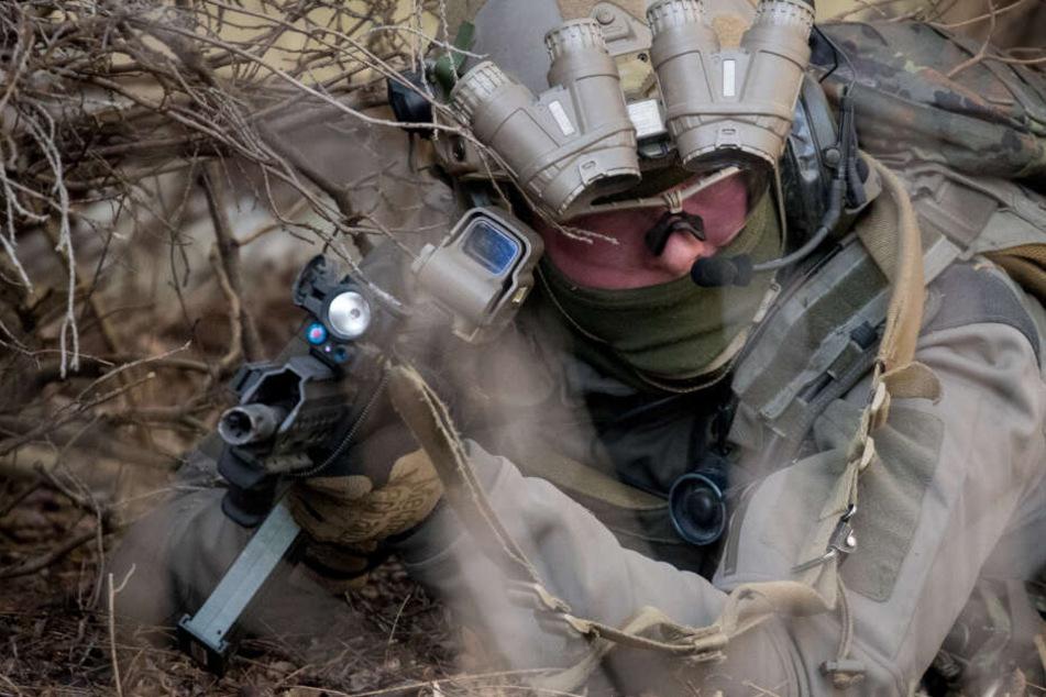 Munition, Granaten und Zünder bei Ex-Bundeswehr-Soldat gefunden